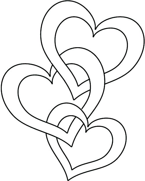 500x625 Heart And Rose Coloring Pages Heart And Roses Coloring Pages