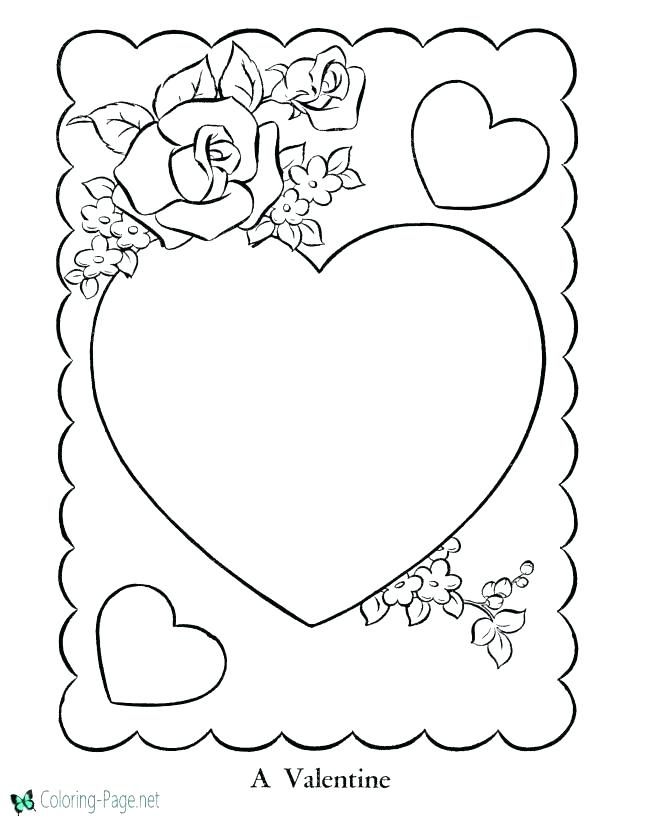 670x820 Appealing Coloring Pages Rose Heart Coloring Page Free Brilliant