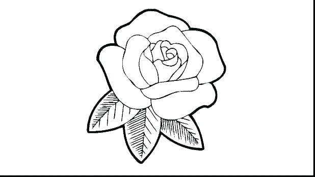 618x348 Hearts Color Pages Coloring Pages Rose Roses And Hearts Coloring