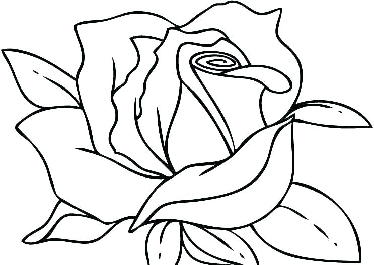743x527 Hearts Coloring Page Color Pages Of Hearts Coloring Pages Roses