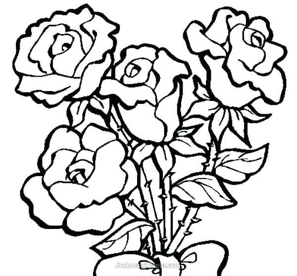 600x558 Rose Color Pages Heart Coloring Sheet Rose Coloring Rose Heart
