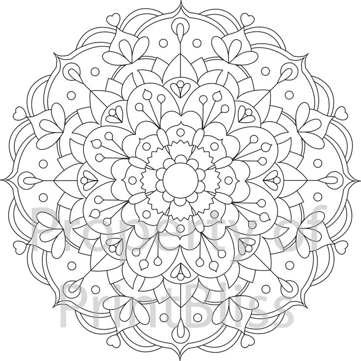 736x736 Printable Flower Mandala Coloring Pages Ideas Of Printable Rose
