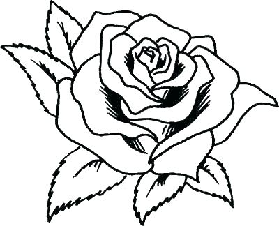 400x324 Coloring Pages Rose Roses Coloring Pages Rose Coloring Sheets Rose