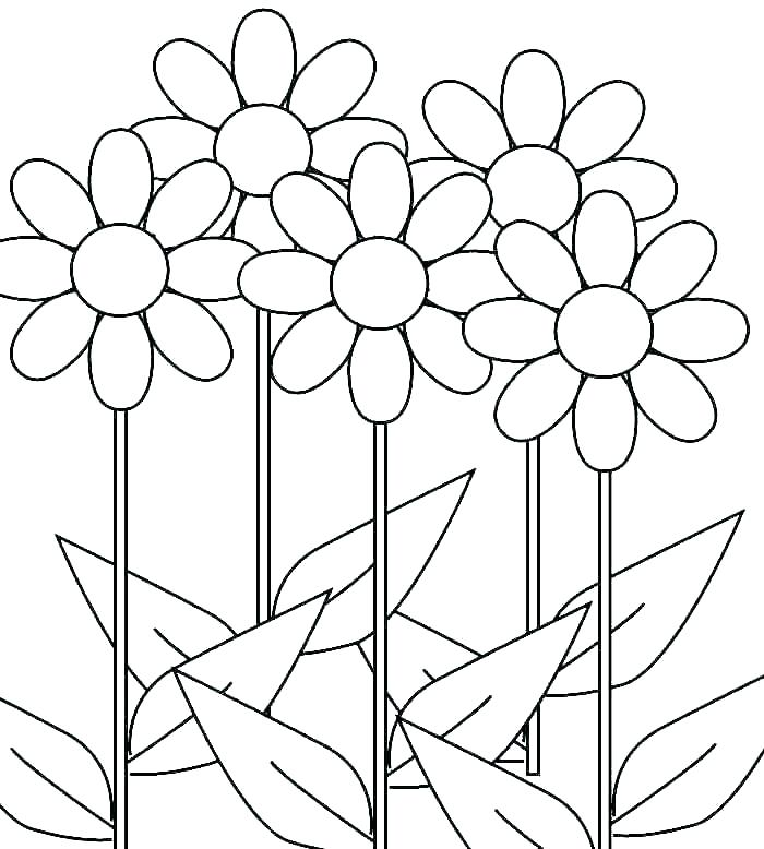 700x778 Daisy Petal Coloring Page Daisy Petal Coloring Page Earning Daisy