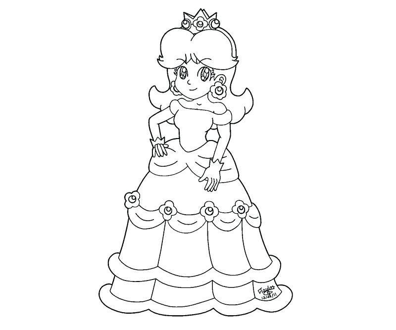 800x667 Daisy Coloring Pages Daisy Coloring Page Spring Flower Daisy