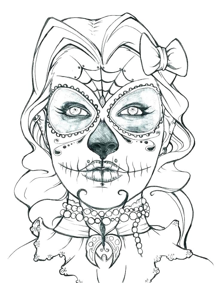 736x949 Coloring Pages Skulls Skull Coloring Pages Anatomy Human