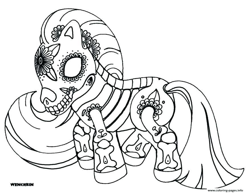 863x677 Free Sugar Skull Coloring Pages Free Sugar Skull Coloring Pages
