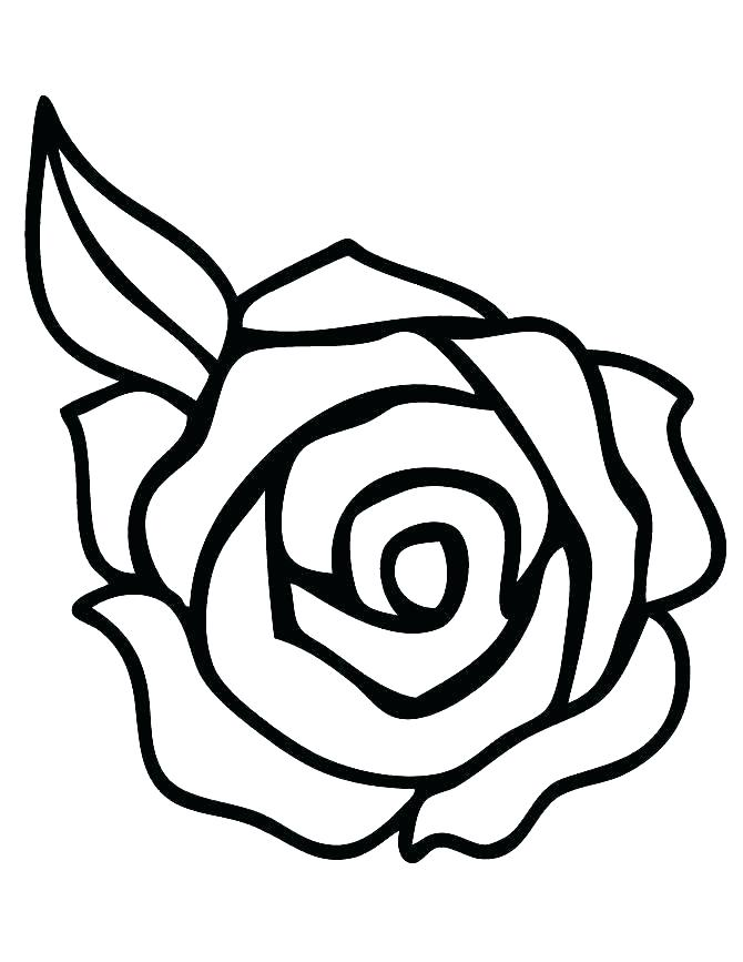 670x867 Coloring Pages Rose Roses Coloring Pages Printable Roses Coloring