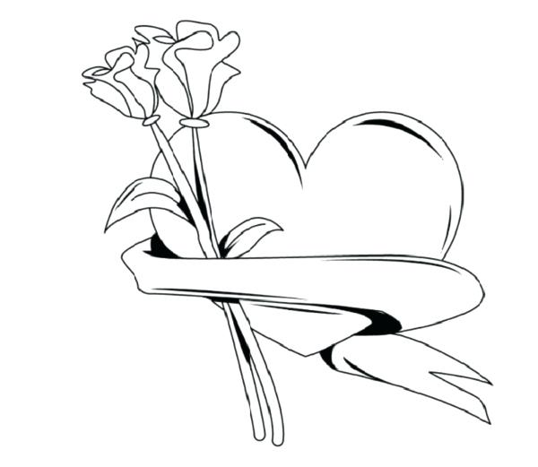 600x521 Valentine Heart Coloring Pages Coloring Pages Of Hearts