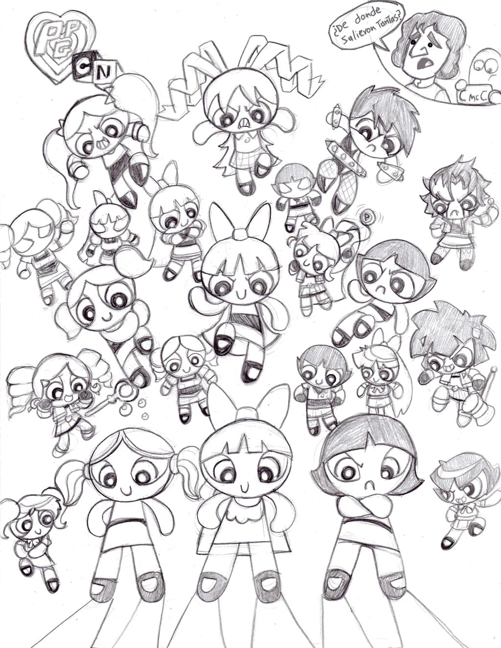 1024x1324 Power Puff Girls Z Coloring Pages