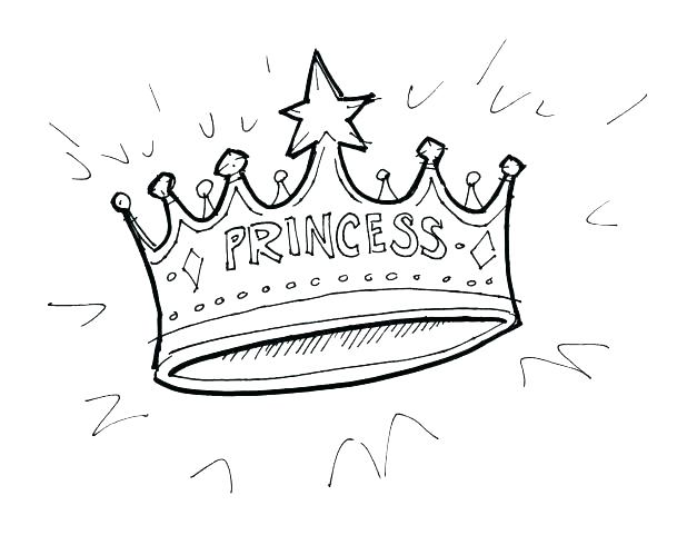 618x481 Crown Coloring Page Drawn Crown Coloring Page Royal Crown