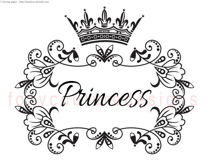 869x671 Crown Coloring Page Photos High Resolution Pages Free Printable