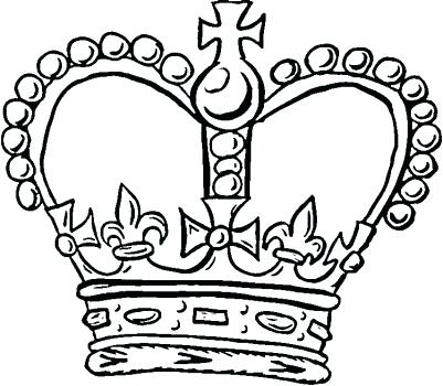 401x350 King Crown Coloring Page Royal Crown Coloring Page King And Queen