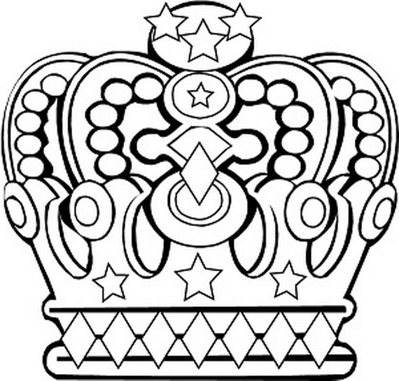 570x545 King And Queen Coloring Sheets Queen Elizabeth Diamond Jubilee