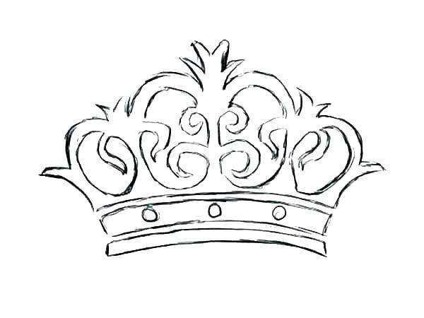 600x450 Princess Crown Coloring Page Crown Coloring Page Crown Coloring