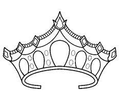 236x219 Royal Crown Coloring Sheets Templates Crown