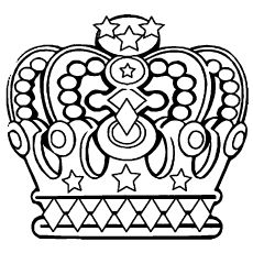 230x230 Top Crown Coloring Pages