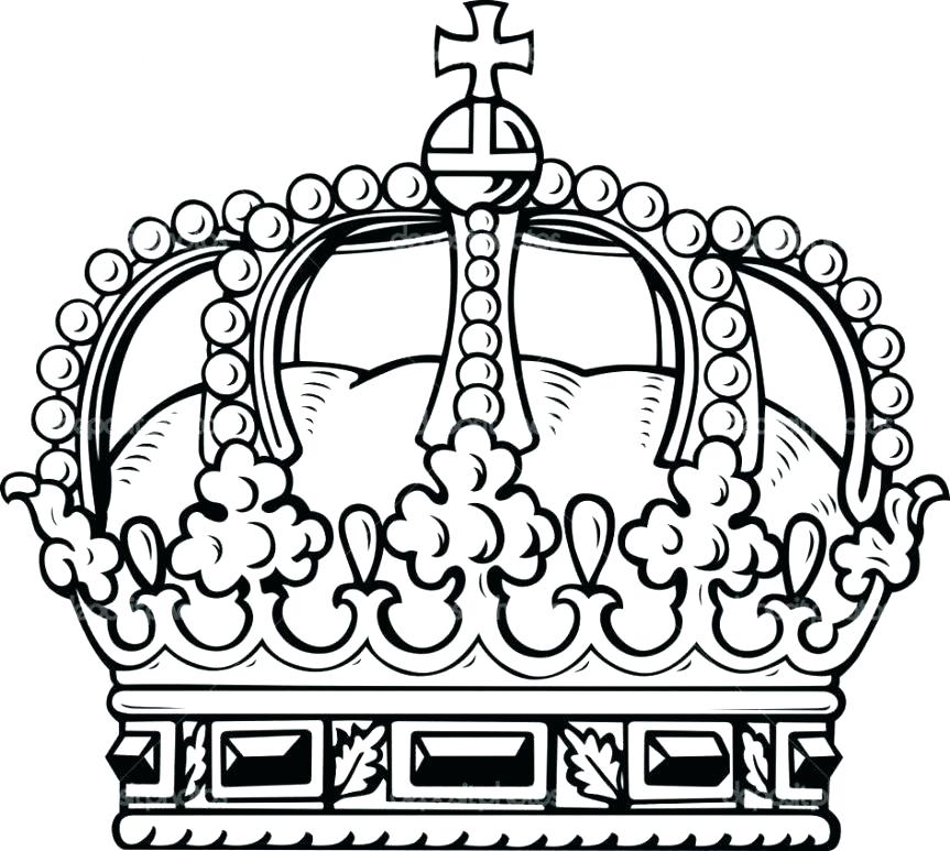 863x773 Crown Coloring Page Crown Coloring Pages Royal Crown Colouring