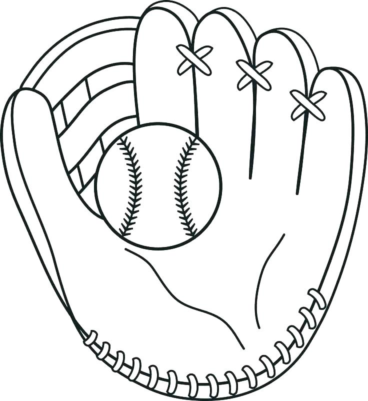 736x802 Coloring Pages Free Baseball Coloring Pages Color For Children