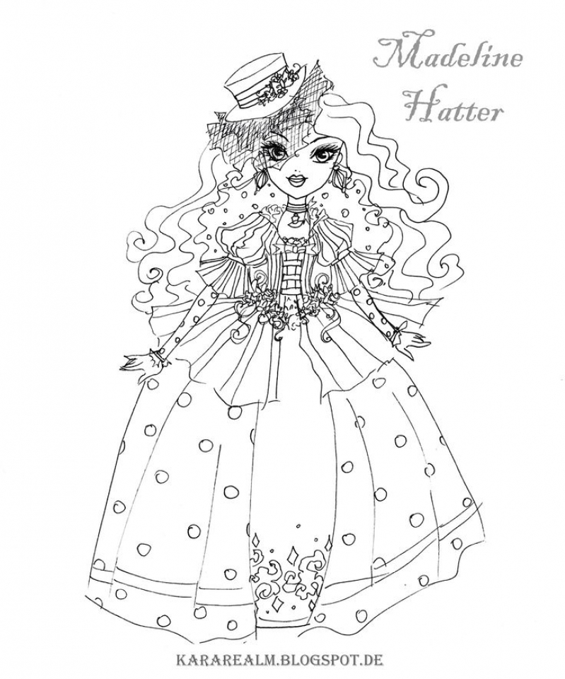 799x960 Ever After High Coloring Pages Royals Bgcentrum