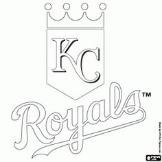 image regarding Kc Royals Schedule Printable called Royals Coloring Internet pages at  Free of charge for unique