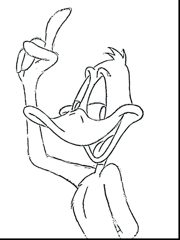 618x824 Rubber Duck Coloring Page Daffy Duck Coloring Pages Unbelievable