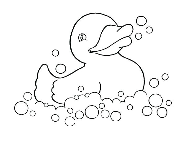 600x491 Rubber Duck Coloring Page Rubber Duck Coloring Page Rubber Ducky