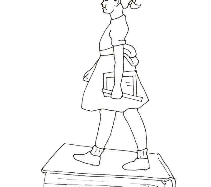 Ruby Bridges Coloring Page At Getdrawings Free Download