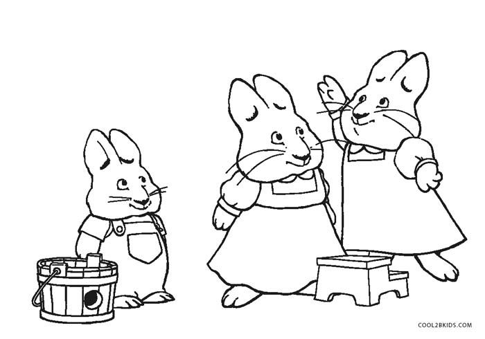 700x490 Max And Ruby Coloring Pages