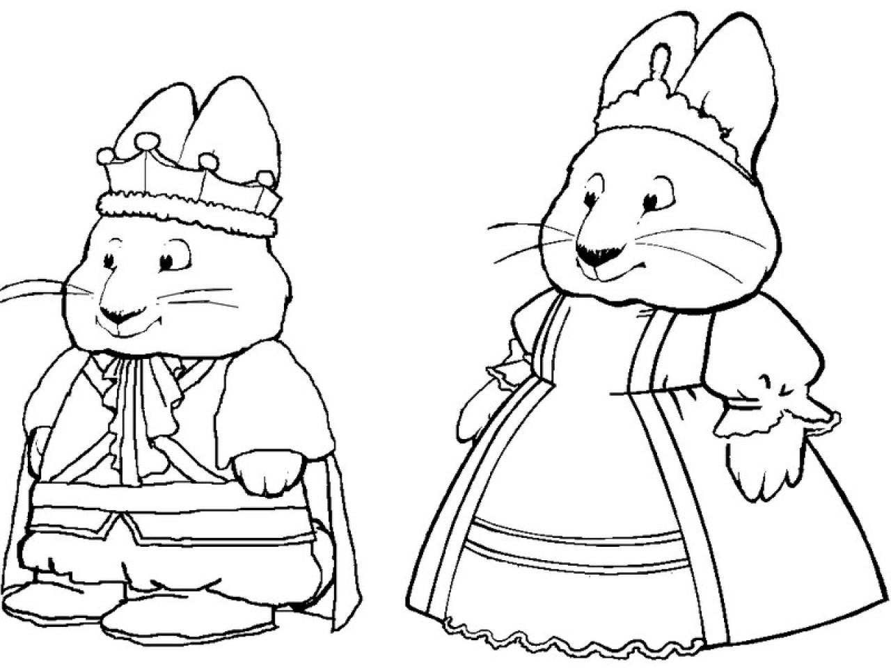 1280x960 Max And Ruby Coloring Pages