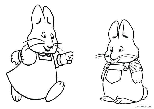650x460 Max And Ruby Coloring Pages Max And Ruby Coloring Pages To Print
