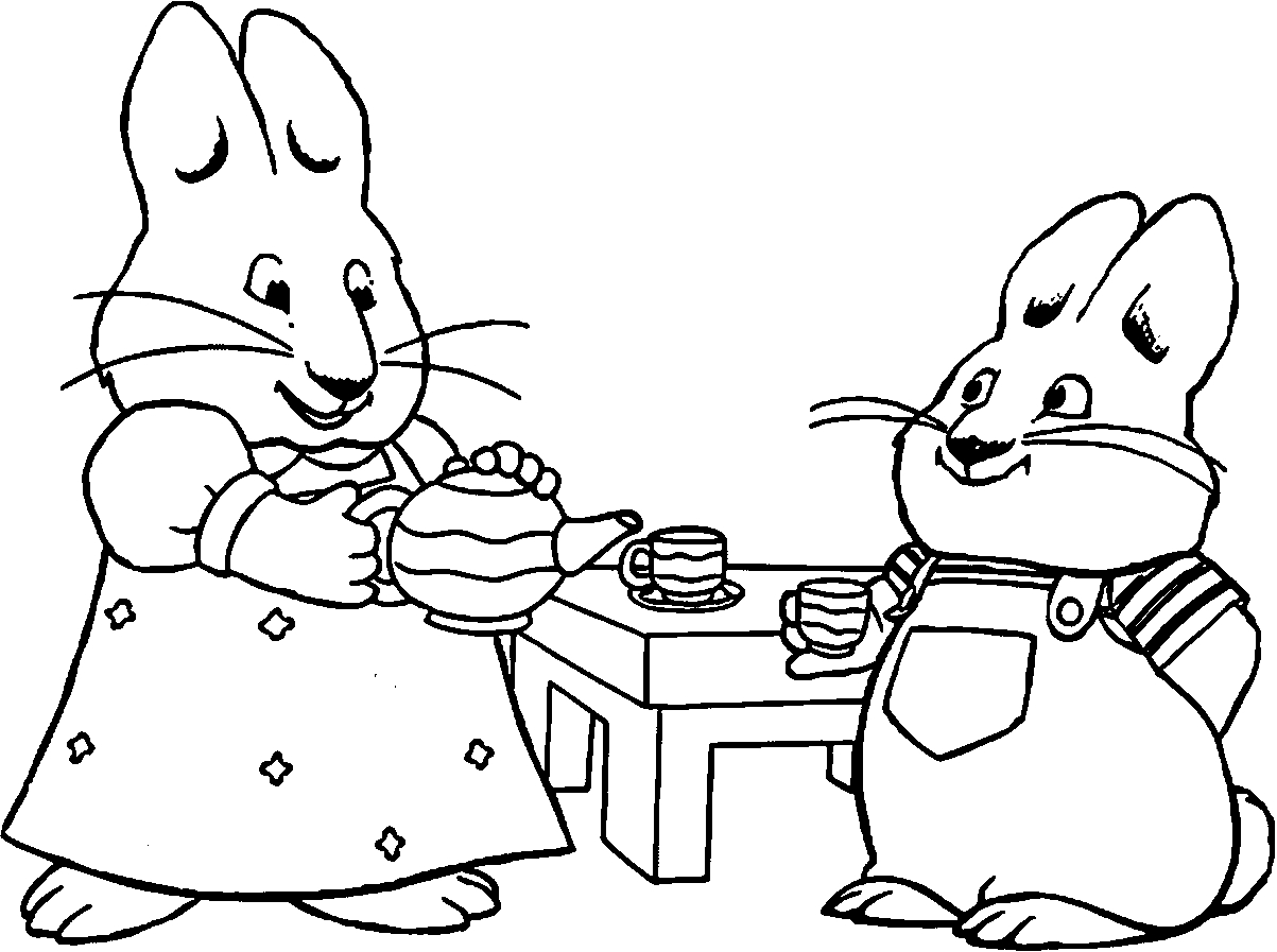 1203x897 Best Of Max And Ruby Coloring Pages Collection Free Bridges Page
