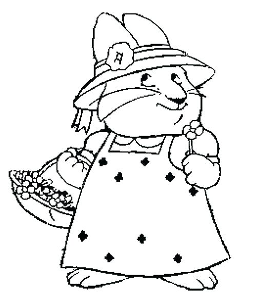 499x600 Ruby Coloring Pages Max And Ruby Coloring Pages Free Coloring