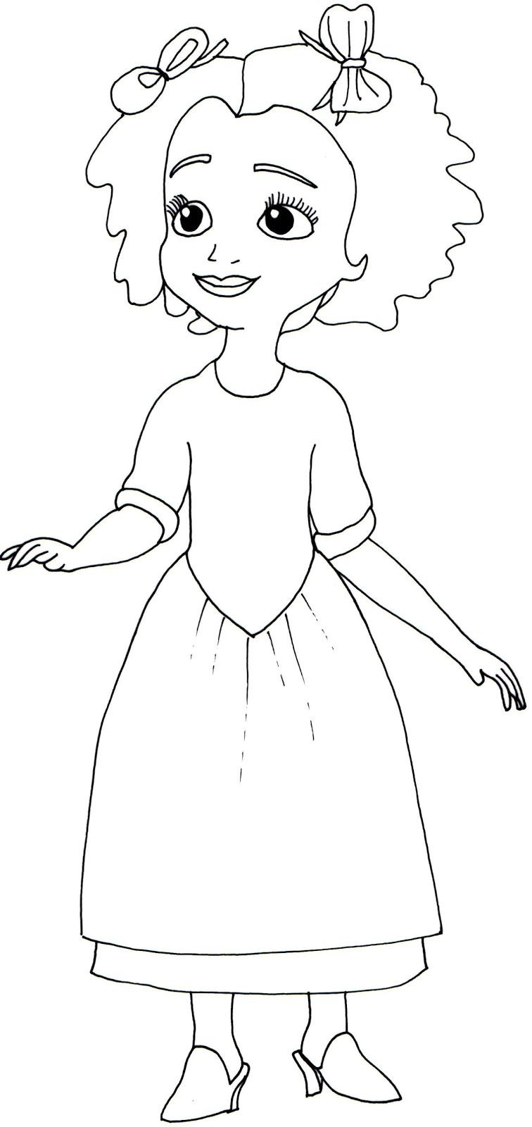 756x1600 Sofia The First Coloring Pages Ruby Sofia Disney