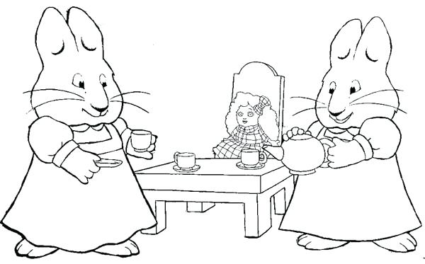 600x373 Free Printable Max And Ruby Coloring Pages For Kids Max And Ruby