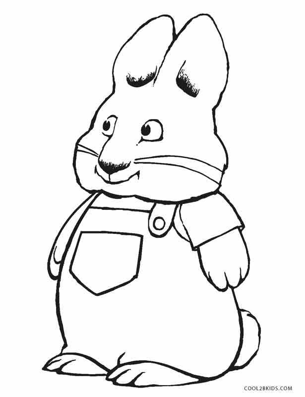 615x800 Free Printable Max And Ruby Coloring Pages For Kids