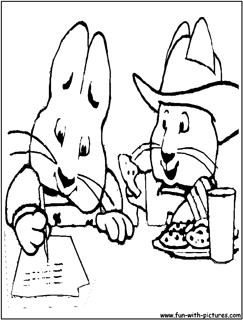 800x1050 Fresh Max And Ruby Coloring Pages To Print Collection Free