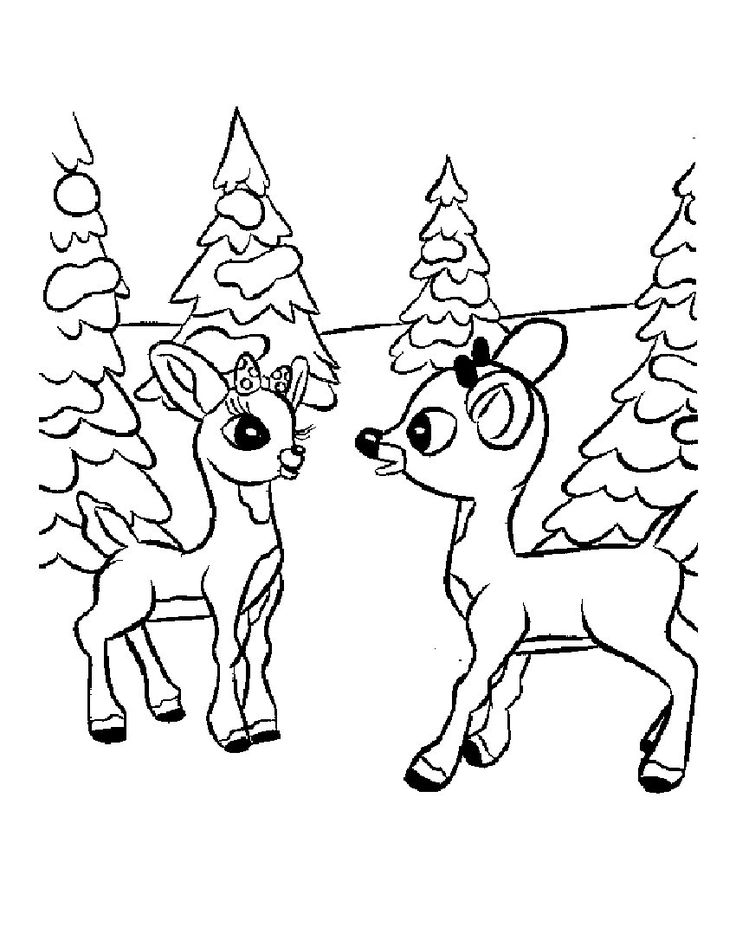736x952 Best Rudolph And Clarice Images On Red Nosed