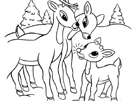 440x330 Rudolph Printable Coloring Pages Coloring Pages Island Of Misfit