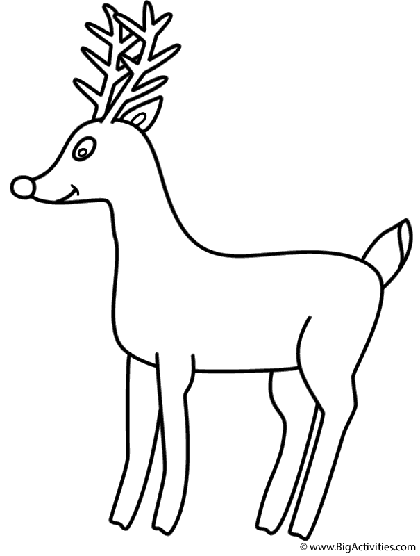 605x800 Rudolph The Red Nosed Reindeer