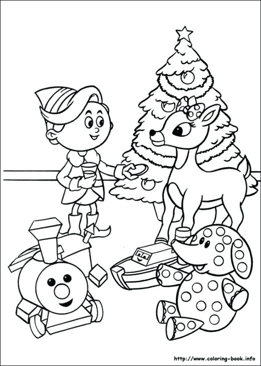 521x730 Rudolph Printable Coloring Pages And Celebrating Coloring Page