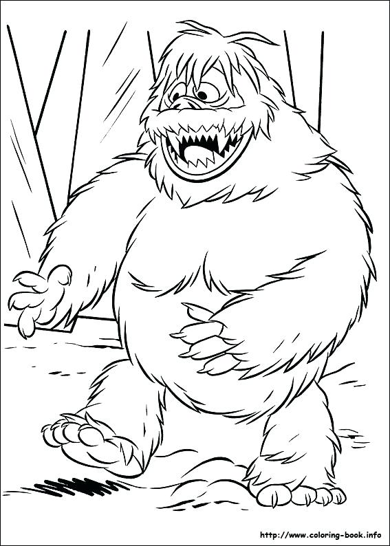 567x794 Rudolph Printable Coloring Pages Bumble Coloring Pages Wilma