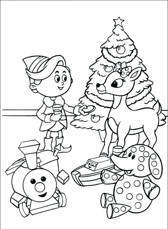 550x749 Reindeer Coloring Pages Reindeer Coloring Pages The Red Nosed