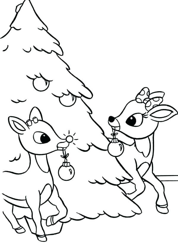 600x816 Coloring Pages Reindeer Coloring Pages Reindeer Head Coloring