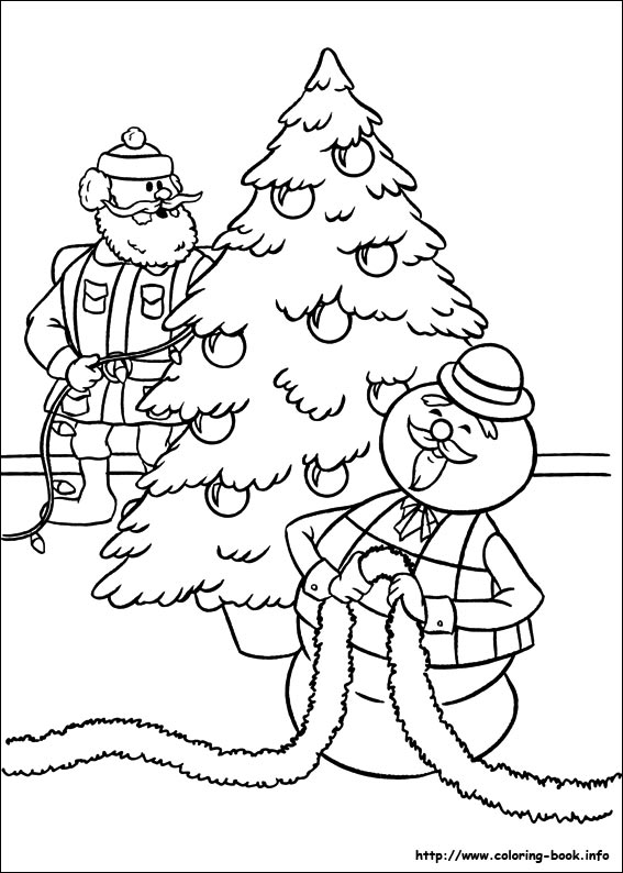 567x794 Expert Rudolph The Red Nosed Reindeer Coloring Page