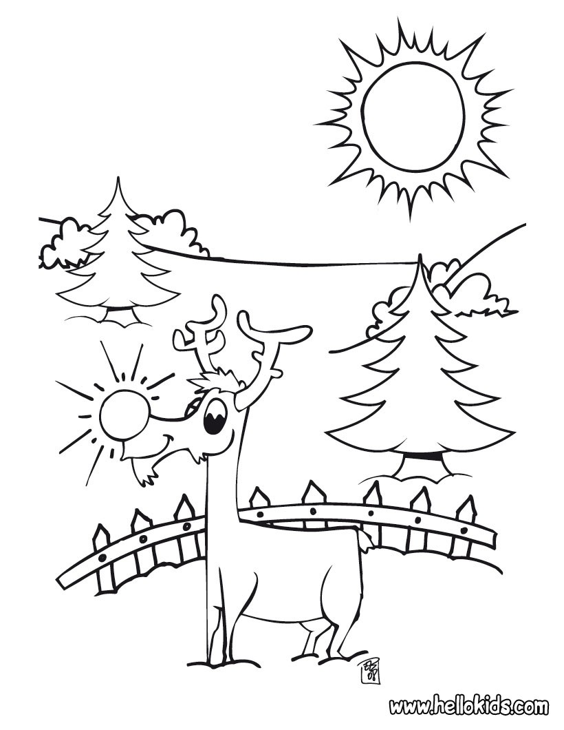 820x1060 Rudolph The Red Nosed Reindeer Face Coloring Pages Crafts And Art