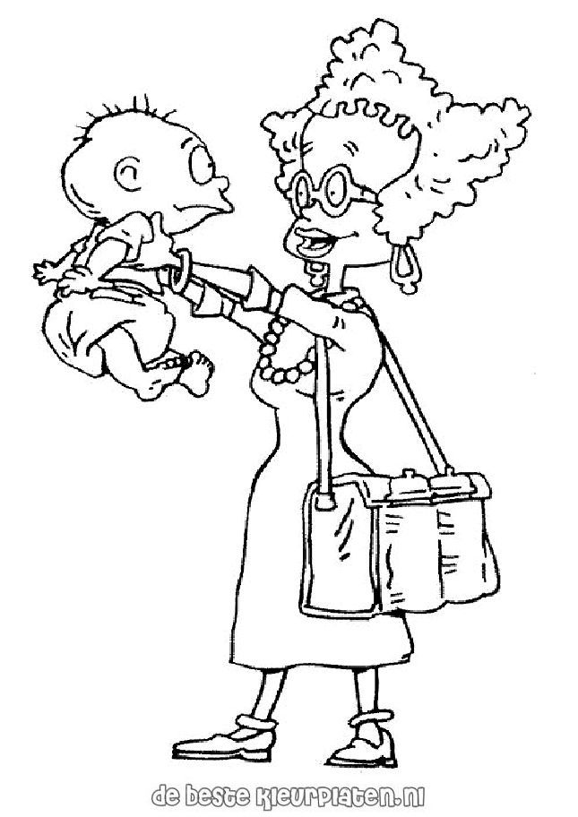 Rugrats Tommy Coloring Pages