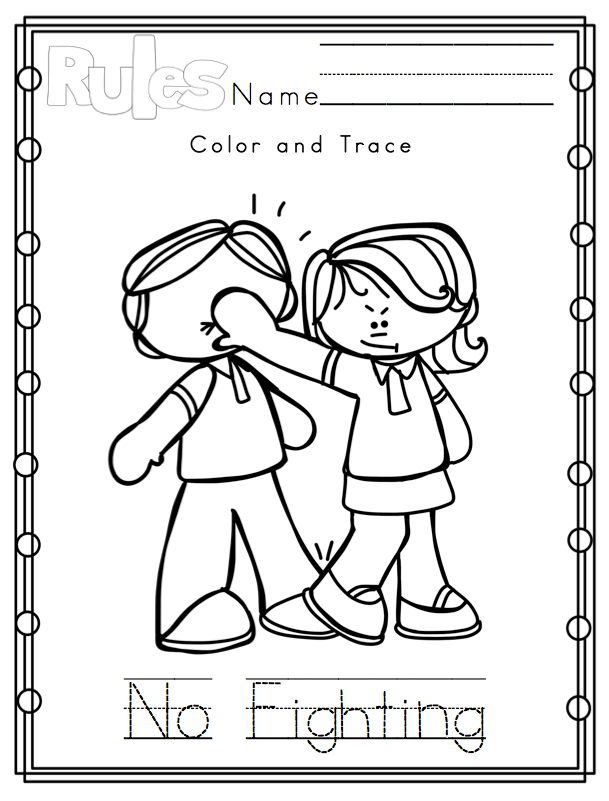 Rules Coloring Pages At Getdrawings Com Free For Personal Use