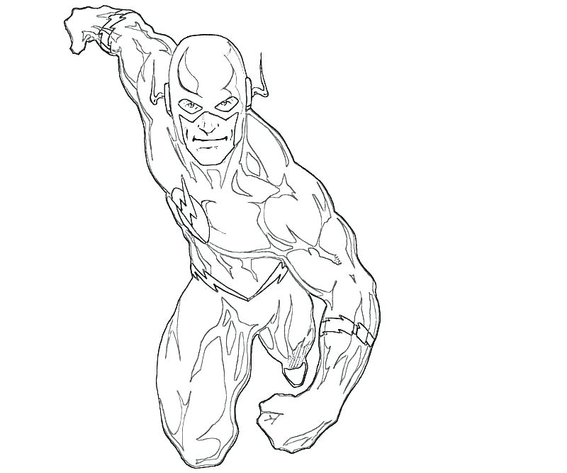 800x667 Flash Coloring Pages The Flash Running Coloring Pages Many