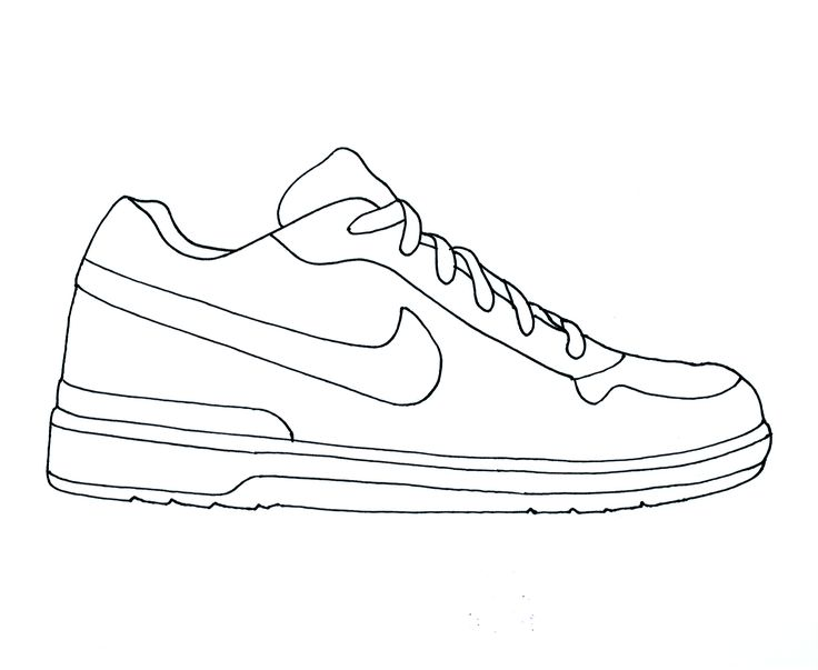 736x603 Printable Shoe Coloring Page From Gifts